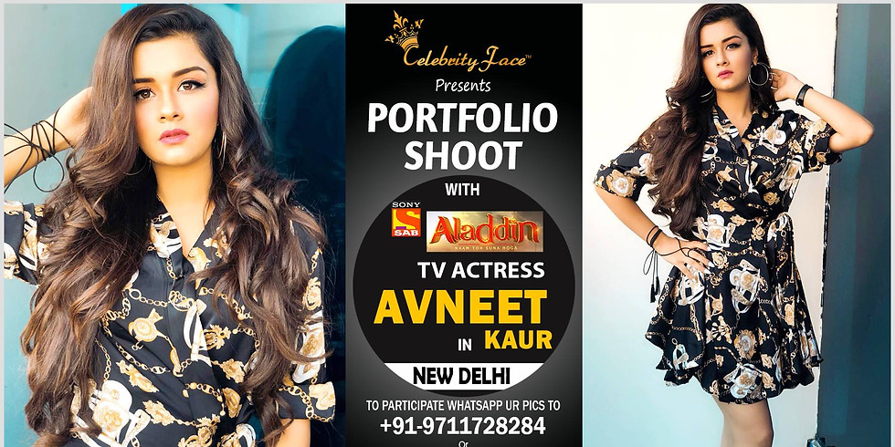 Celebrity Face Couple Fashion PhotoShoot with Sab T.V Aladdin Actress Avneet Kaur