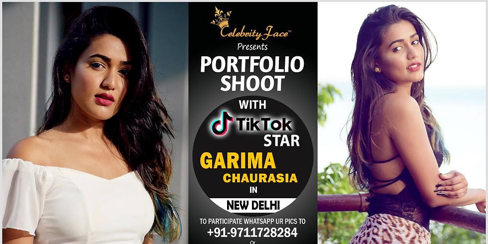 Celebrity Face Couple Fashion PhotoShoot & TikTok Videos with TikTok Star Garima