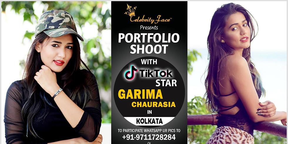 Celebrity Face Couple Fashion PhotoShoot & TikTok Videos with Garima in Kolkata