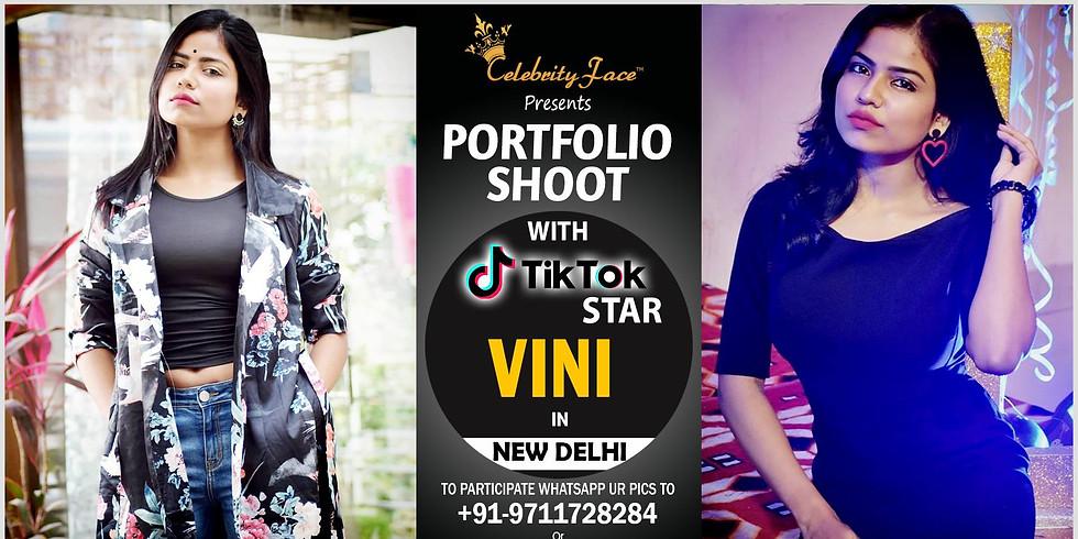 Celebrity Face Couple Fashion PhotoShoot & TikTok Videos with TikTok Star Vini
