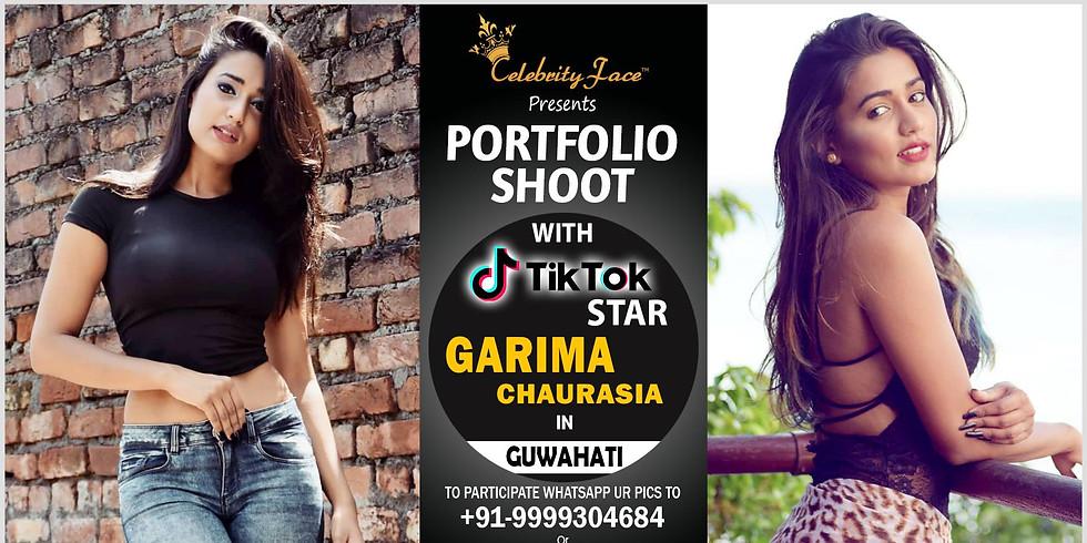 Celebrity Face Couple Fashion PhotoShoot & TikTok Videos with Garima in Guwahati