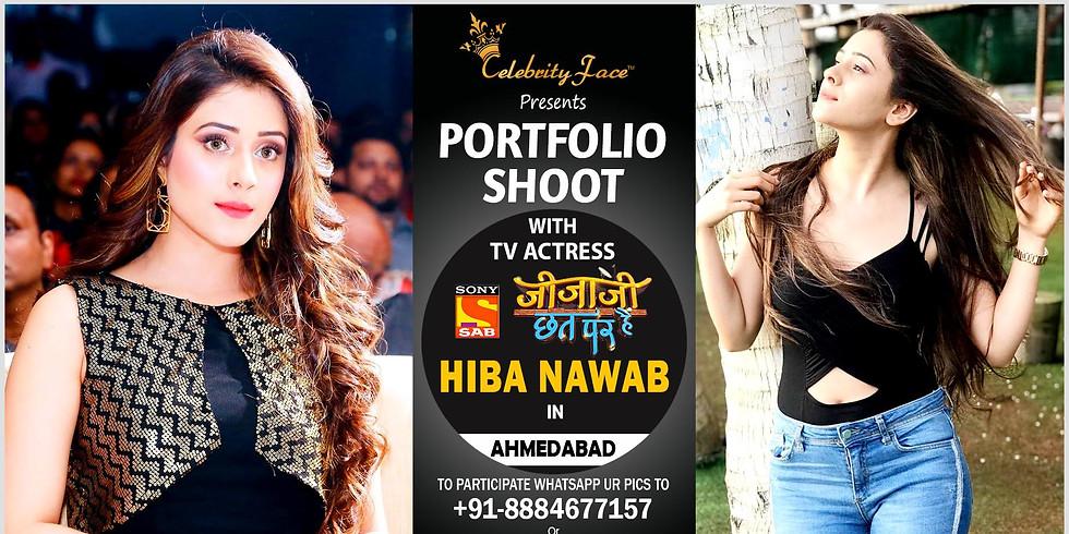 Photoshoot with Hiba Nawab in Ahmedabad