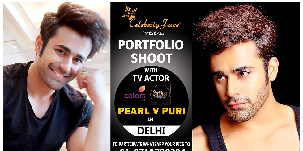Photoshoot with Pearl v Puri in Delhi.