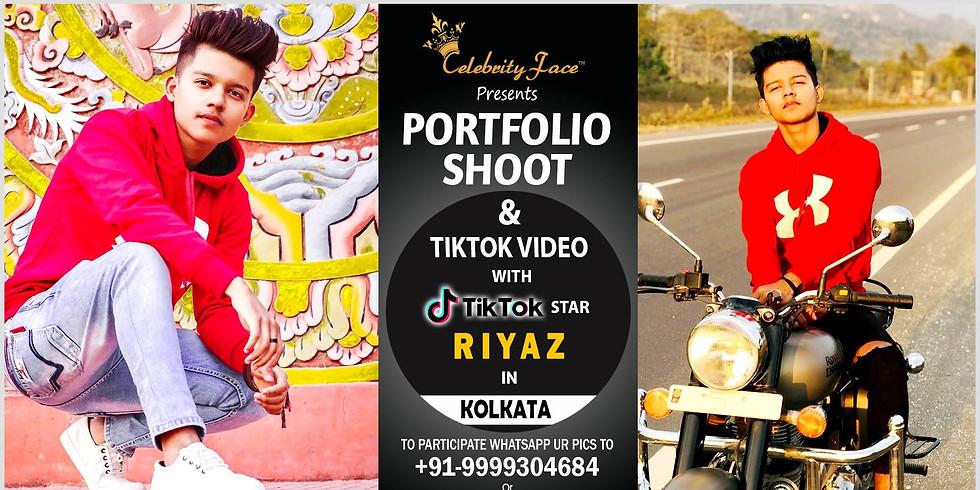 Celebrity Face Couple Fashion PhotoShoot & TikTok Videos with TikTok Riyaz  in Kolkata