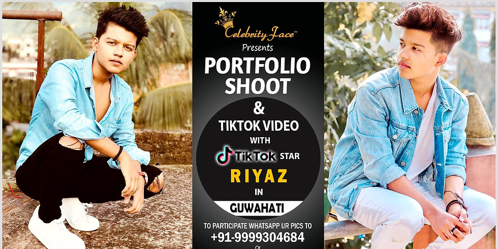 Celebrity Face Couple Fashion PhotoShoot & TikTok Videos with TikTok Riyaz in Guwahati