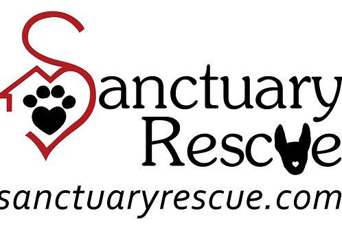 Sanctuary Rescue Logo Decal