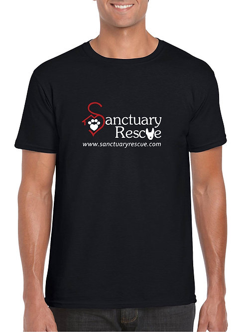 Adult Sanctuary Rescue Short-Sleeve Logo Tee