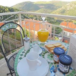 colazione terrazza