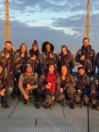 Away Day - the 7L Team climb London's O2