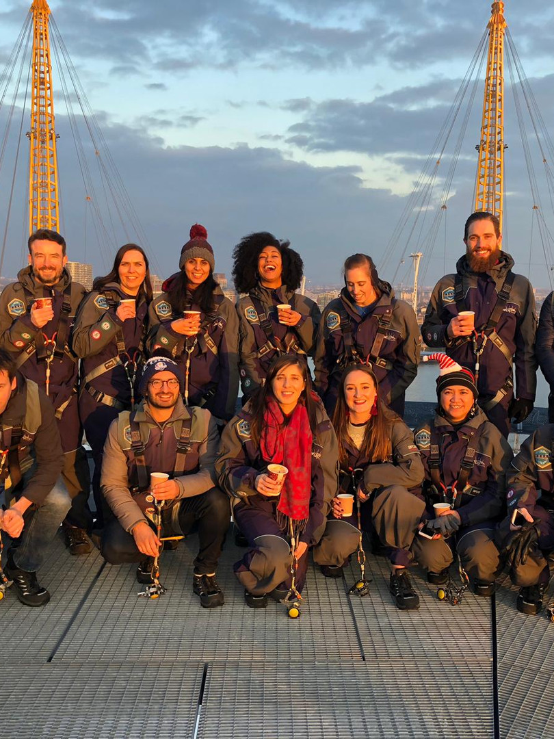 Away Day - the 7L Team climb London's O2
