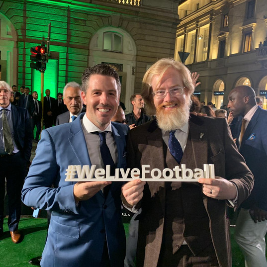 Richard & Andrew at the FIFA Best Awards