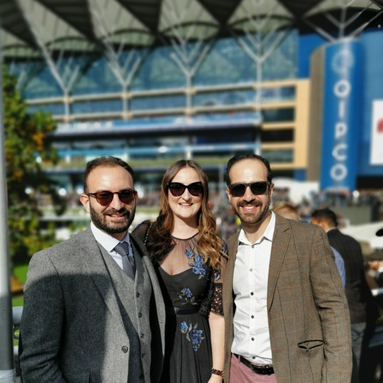 Seven League spends a day at the races