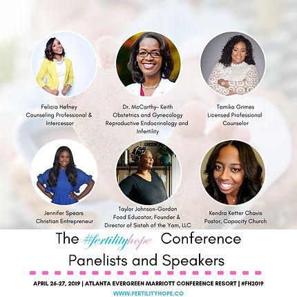 Social Media Post 2- Speakers Highlight