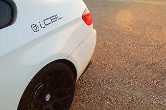 Carbon Fiber Rear Bumper Splitters Horizontal Style