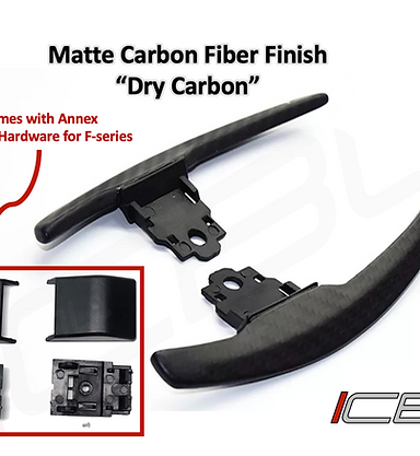 F-Series Carbon Fiber Paddle Shifters
