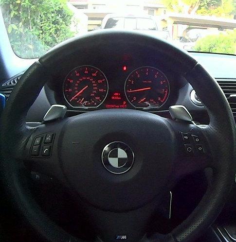 CF Steering Wheel Emblem Sticker