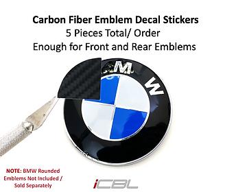 CF Roundel Emblem Sticker (Hood+Trunk)