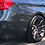 Thumbnail: Carbon Fiber Rear Bumper Splitters With Rivets