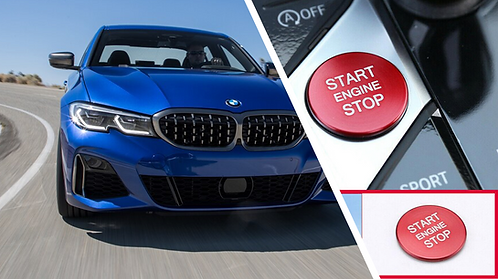 G20 BMW Start Stop Engine Button Cover