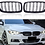 Thumbnail: Gloss Black Front Kidney Grille Double Slat