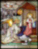Annunciation-Traditional-painted-stained