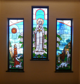 Our Lady of Fatima - stained glass windo