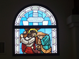 Station of the Cross VIII - Mary Madgdal