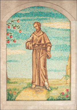 St Francis of Assisi mosaic