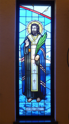 St Josaphat - stained glass window