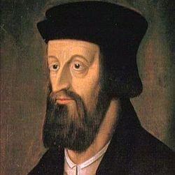 John Huss (Jan Hus), il pre-riformatore