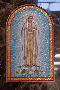 Our Lady of Fatima mosaic