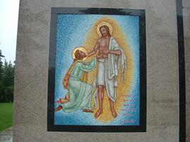Doubting Thomas mosaic