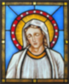 St-Mary-bust-stained-glass-lightbox-samp