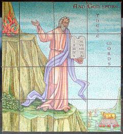 Moses mosaic - ocala FL