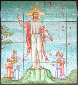 Sermon on the Mount mosaic - Ocala Flori