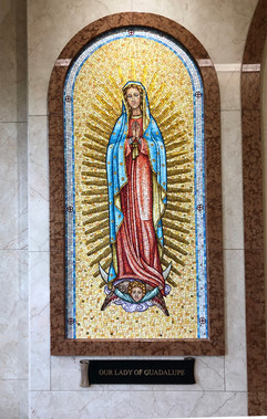Our Lady of Guadalupe mosaic - Radiant A