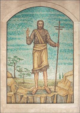 John the Baptist mosaic