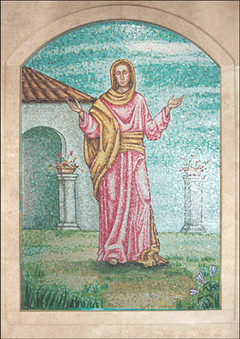 Saint Elizabeth mosaic