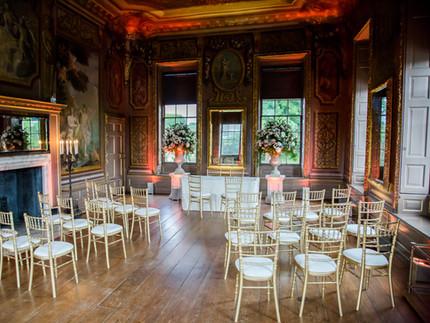 London wedding venue Hampton Court Palace, beautiful historic house wedding venue