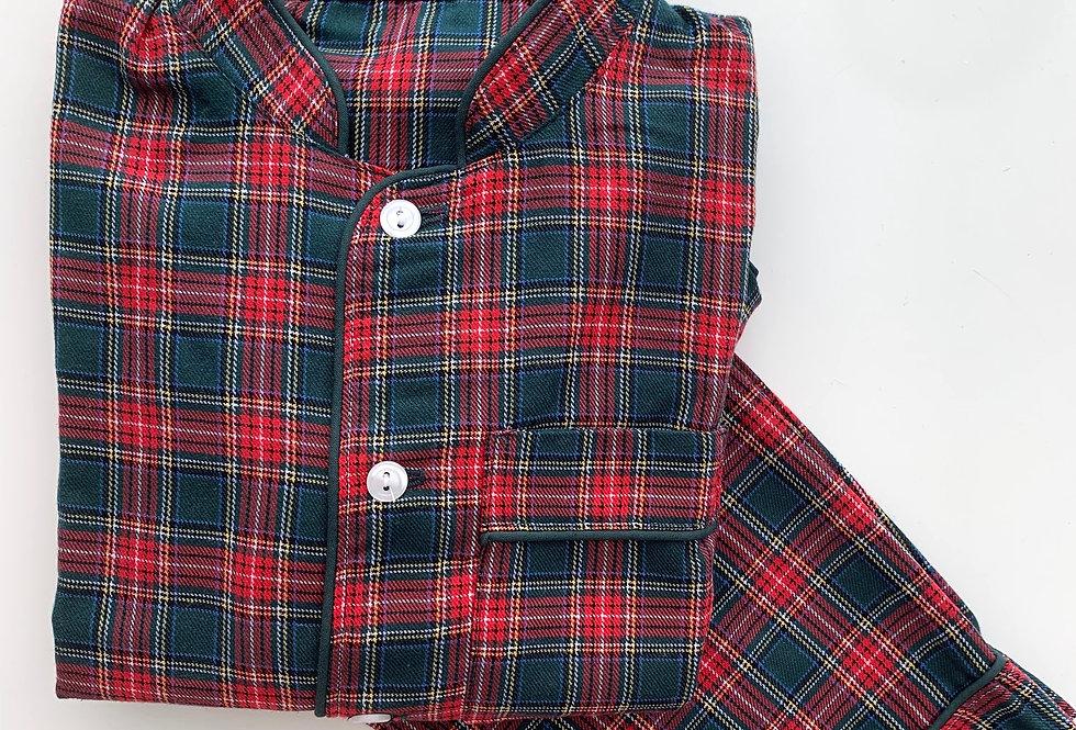 Neo escocés verde y rojo