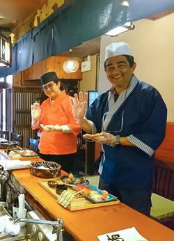 たちばな  sushimaking  Tachibana kuromon