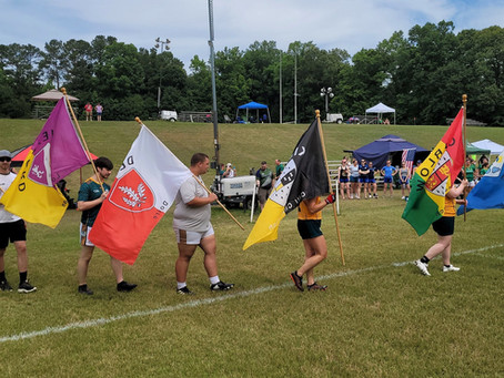 Footballers make an appearance at Raleigh tournament