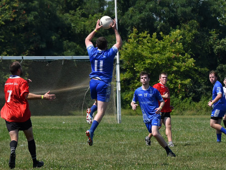 DC footballers take on Baltimore and Michael Collins