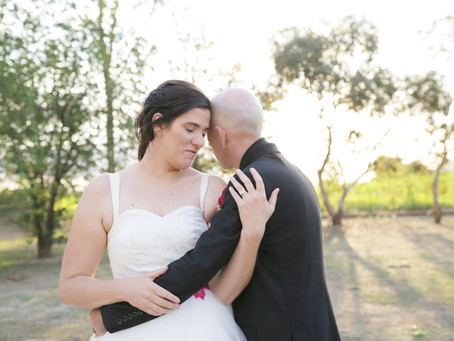 Love was in the air with this Riverina Wedding