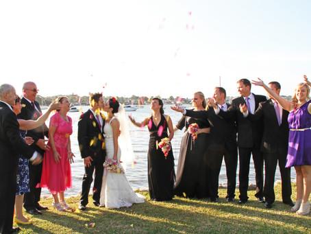Sweet God's Country Wedding