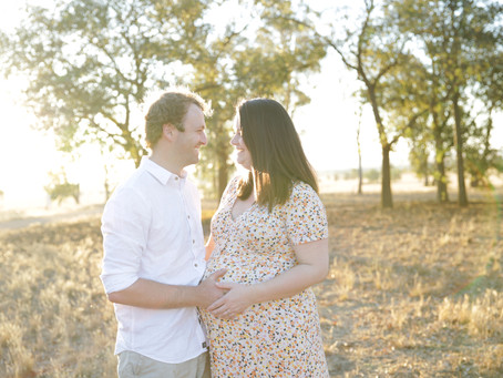 Love a Great Country Sunset Maternity Session!