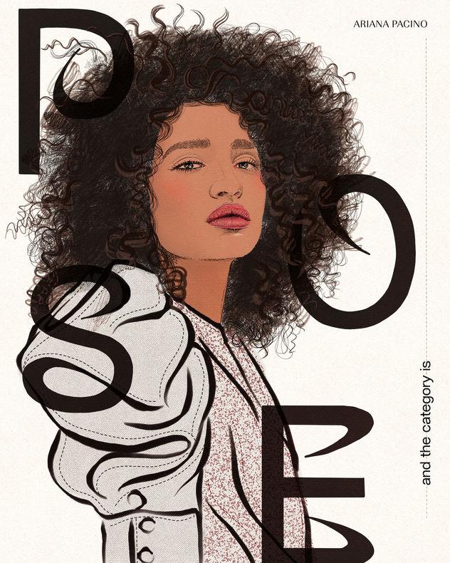 POSE Angel Fashion Illustration