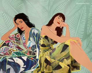 Farm Rio Fashion Illustration