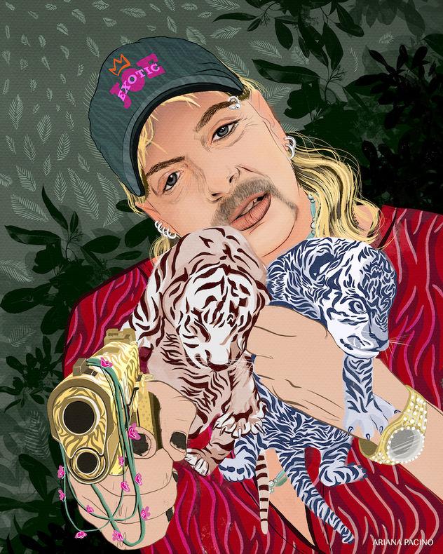 Tiger King Portrait