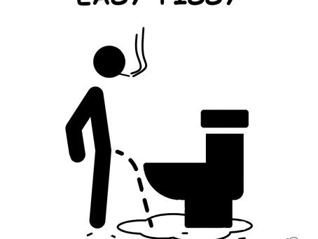 The Bathroom's squatting smoker